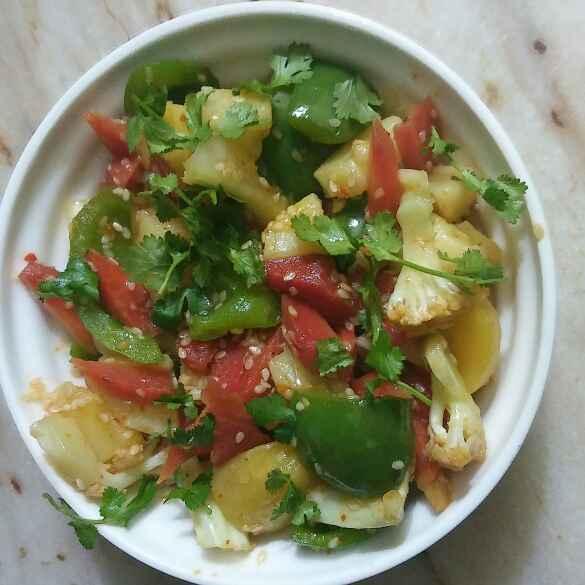 How to make Vegetables stir fry