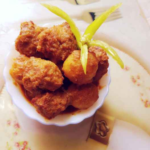 Photo of Chitol fish dumpling curry by Chanda Shally at BetterButter