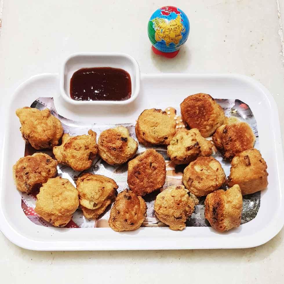 Photo of Semolina egg fritter by Chanda Shally at BetterButter
