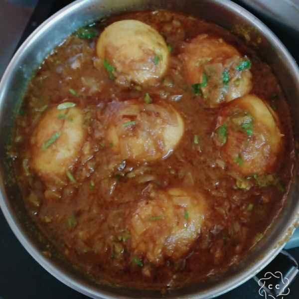 Photo of Egg kaliya by Chanda Shally at BetterButter