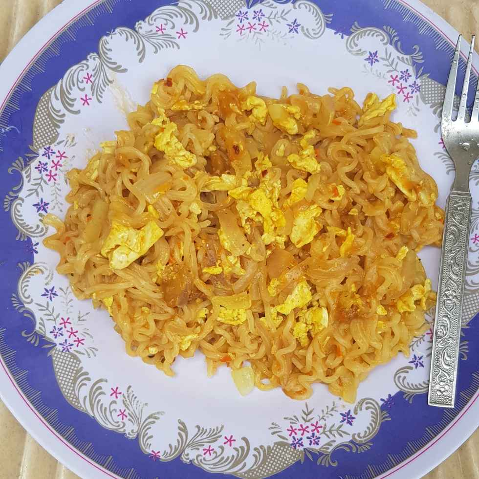 Photo of Masala Egg Maggie by Chanda Shally at BetterButter