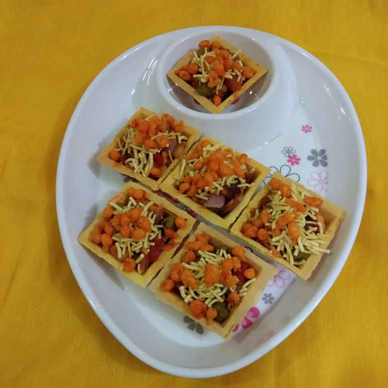 Photo of Canapes chaat by GAYATRI THAKKAR at BetterButter