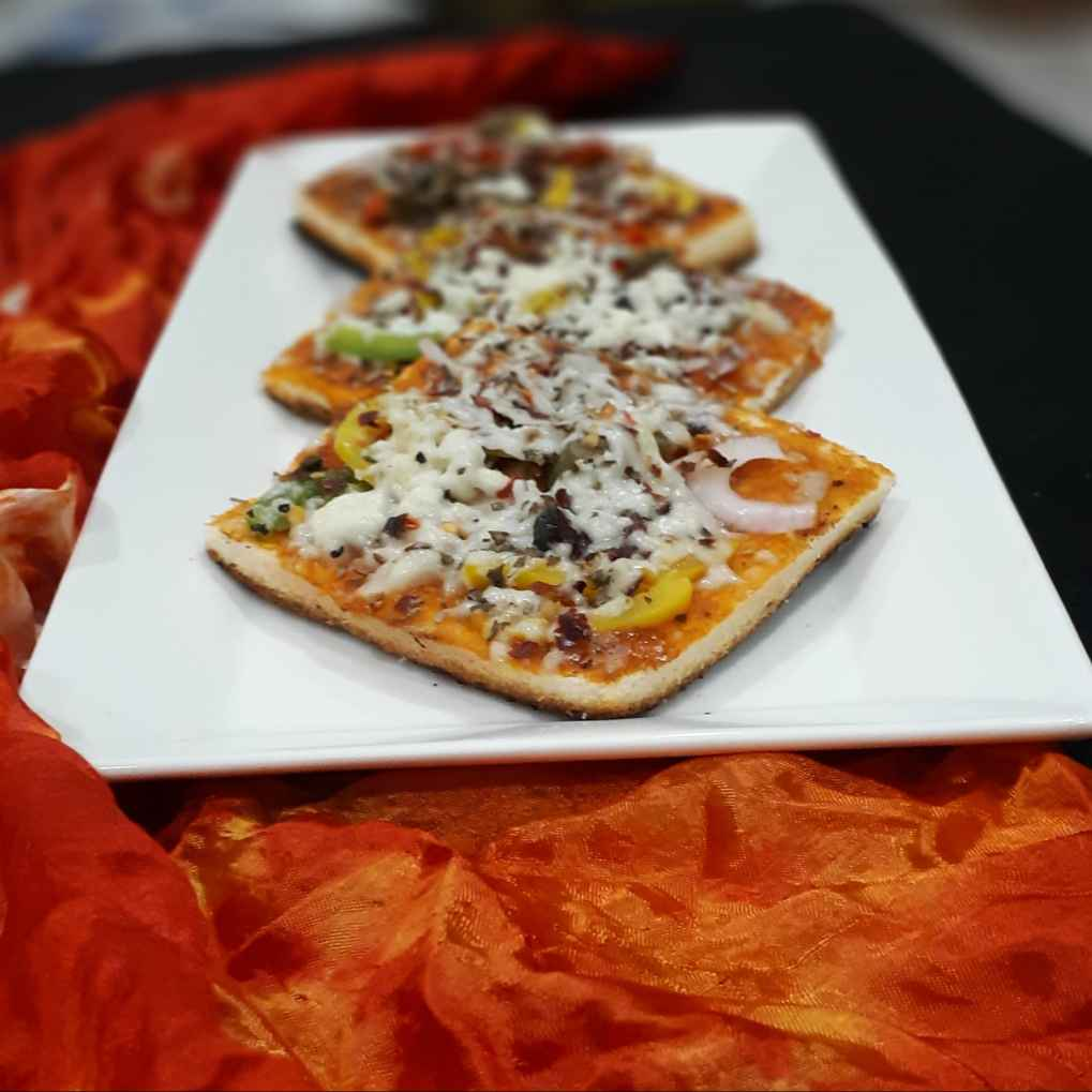 Photo of Bread Pizzaa by Chandana Banerjee at BetterButter