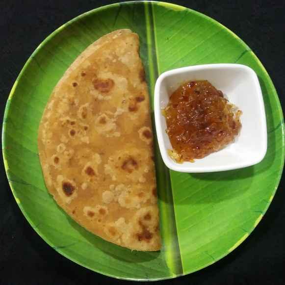 Photo of Kancha Aam er Paratha by Chandana Banerjee at BetterButter