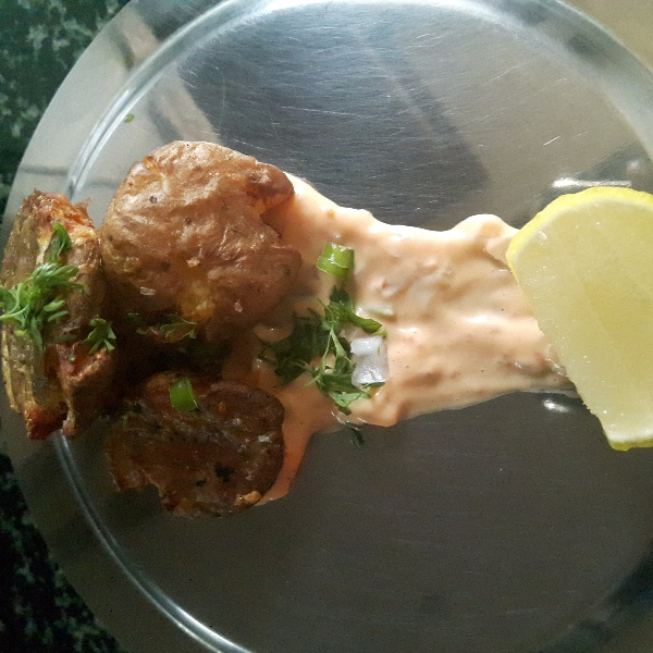 Photo of Crispy cajun baby potatoes by Chandhana Rao at BetterButter