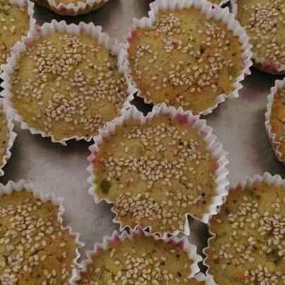 How to make મલ્ટીગ્રેઇન હાંડવા કપકેક