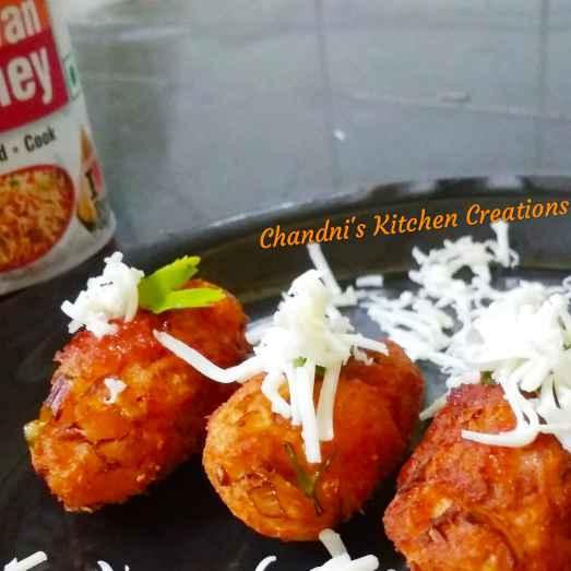 Photo of Schezwan cheese fritters by Chandni Joshi at BetterButter