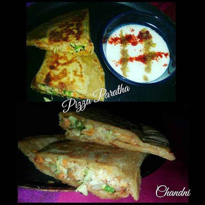 Photo of Pizza paratha by Chandni Joshi at BetterButter