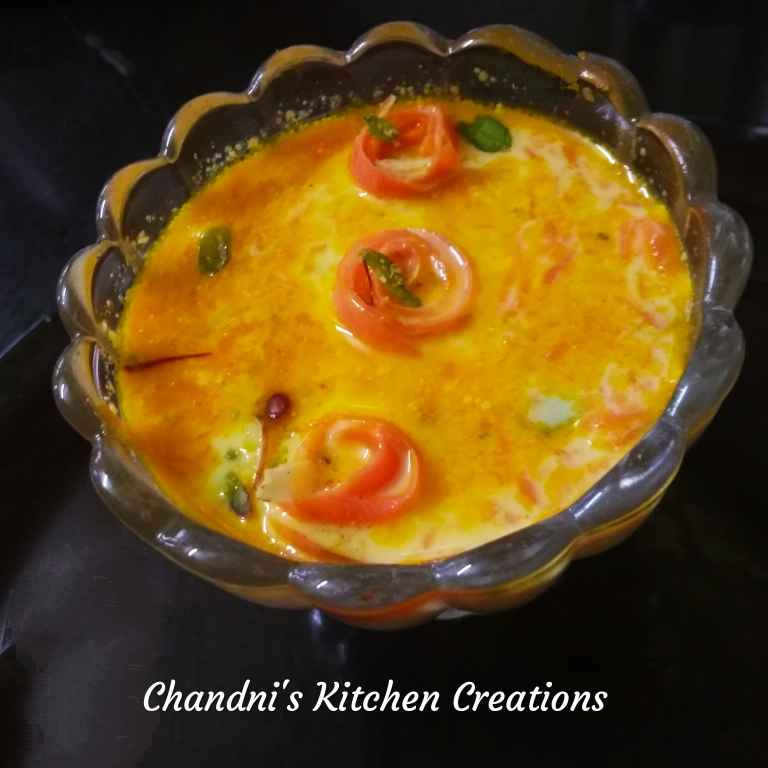 Photo of Carrot khir by Chandni Joshi at BetterButter