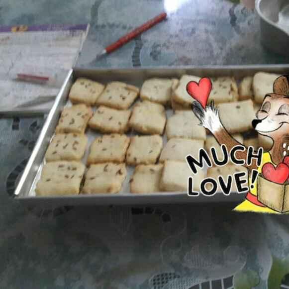 Photo of Zeera biscuits by Chandrani Bhattacharya at BetterButter
