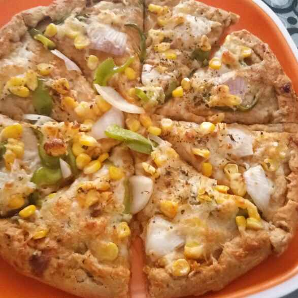 Photo of Farm fresh Atta pizza by Chandrani Bhattacharya at BetterButter
