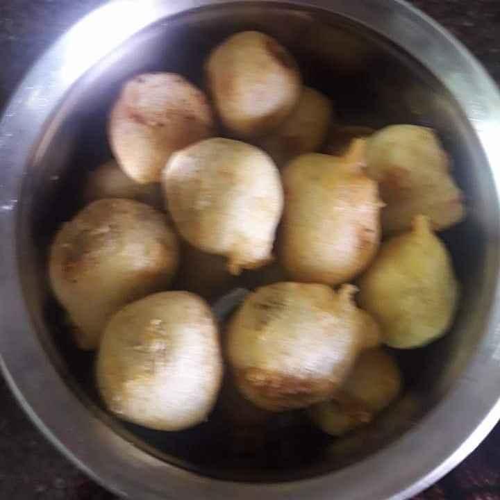 Photo of Sweetpotato purnalu by Chandrika Marripudi at BetterButter