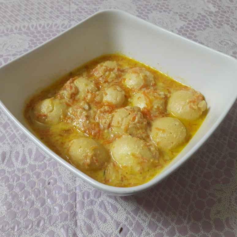 Photo of Carrot rasamalai. by Chandrika Marripudi at BetterButter