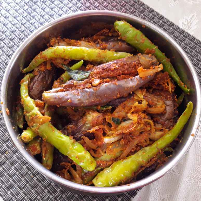 Photo of Stuffed brinjal fry by Chandrika Marripudi at BetterButter