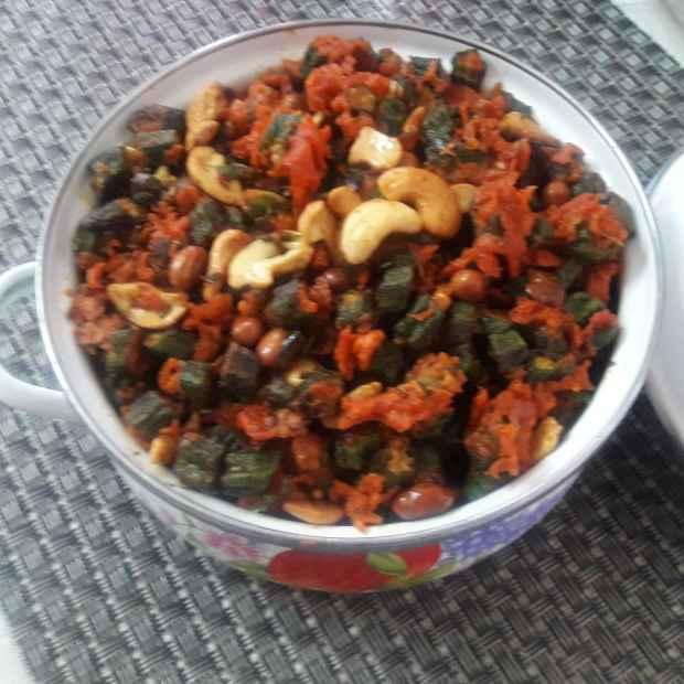 Photo of Bendi pakodi fry by Chandrika Marripudi at BetterButter