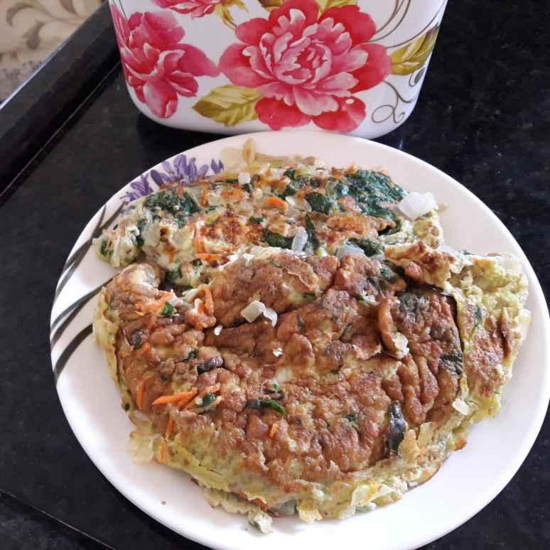 Photo of Egg veg omlet by Chandrika Marripudi at BetterButter