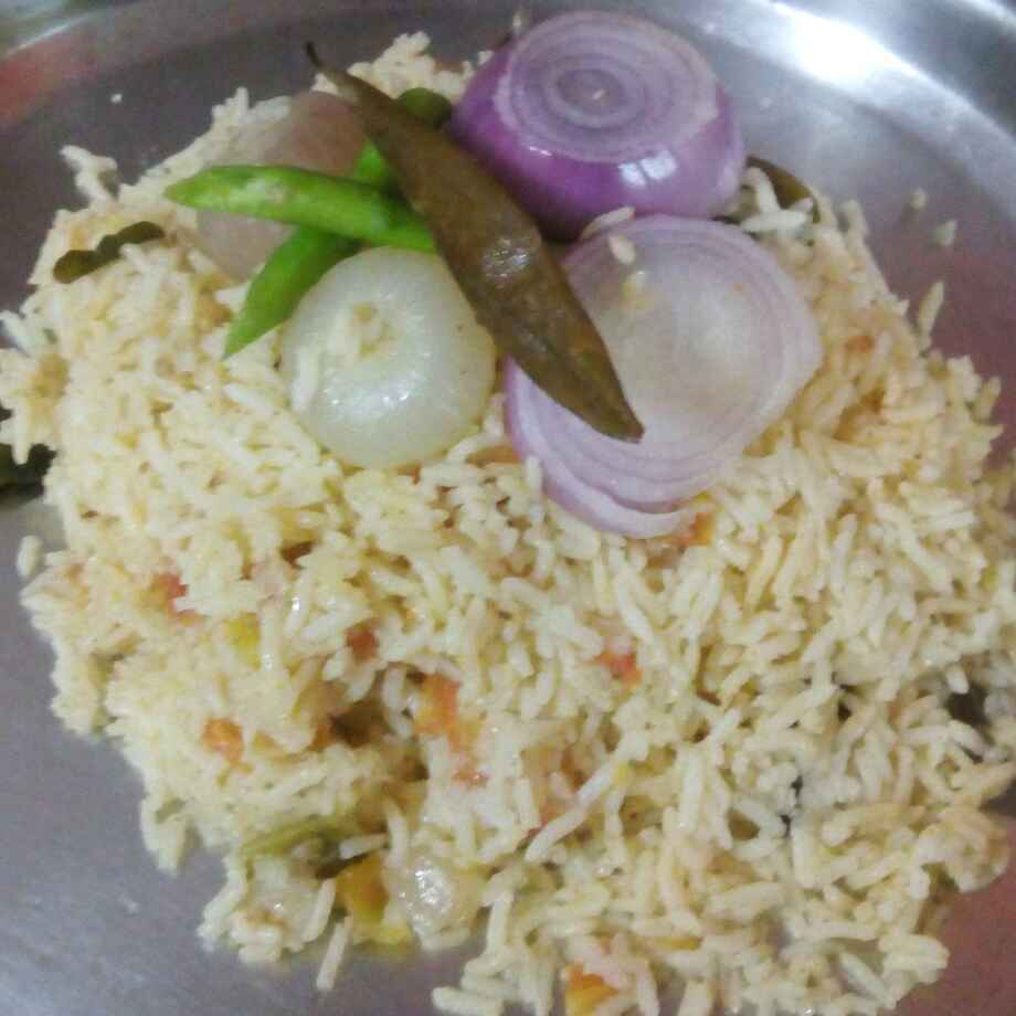 Photo of Small onion tamota pulao by Chandrika Reddy at BetterButter