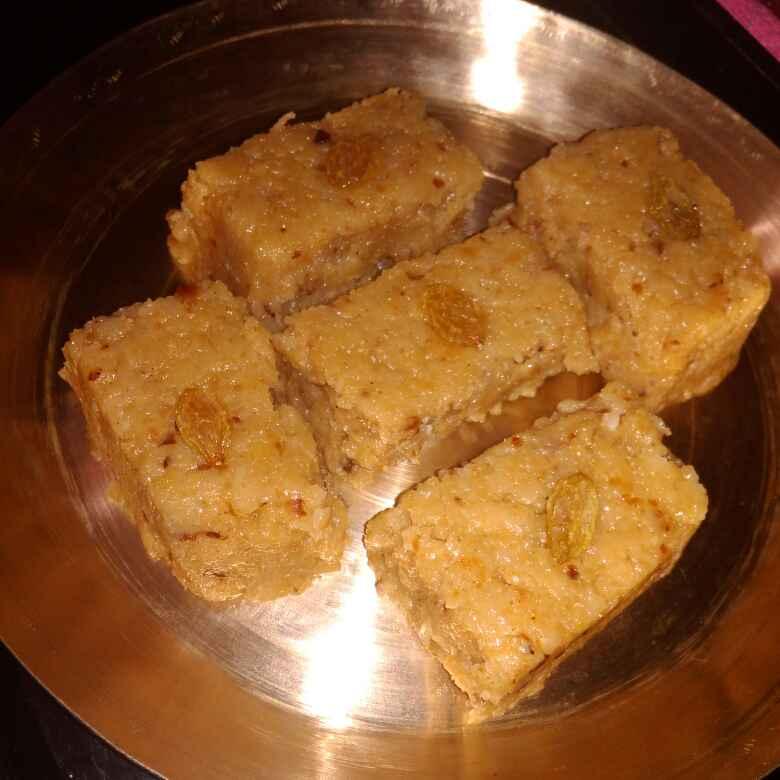 Photo of Roti Burfi by Chandrima Das at BetterButter