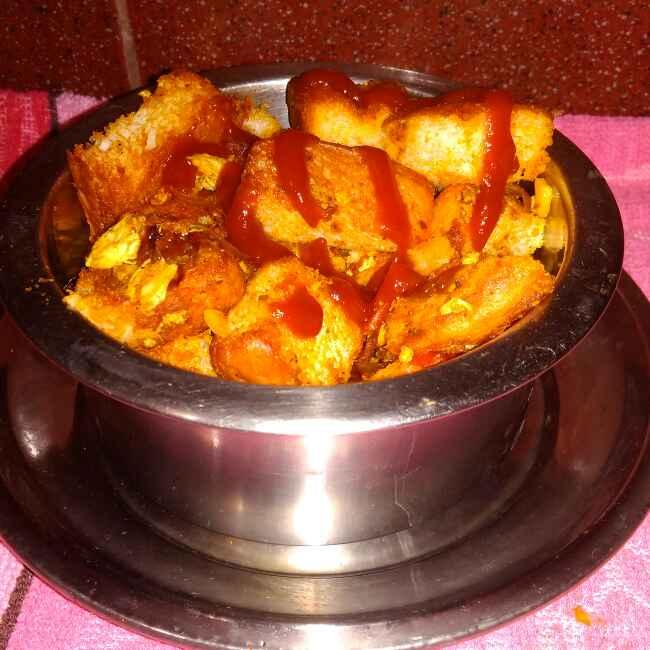 Photo of Egg Bread Masala by Chandrima Das at BetterButter