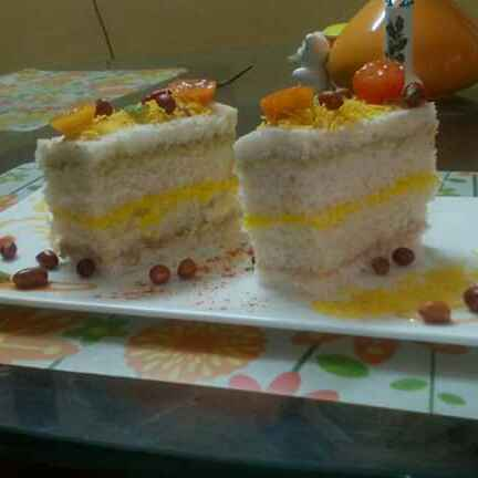 Photo of Tricolour sandwitch by Chandu Pugalia at BetterButter