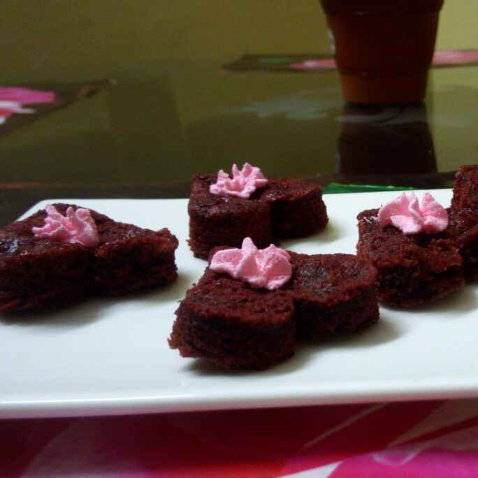 How to make Red velvet brownie