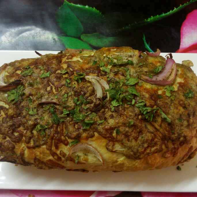How to make Onion cheese bread