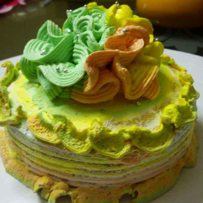How to make पाइनैपल केक