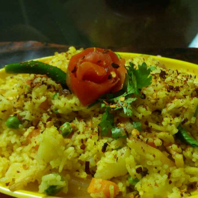 Photo of Vegetable Pulao by Chandu Pugalia at BetterButter