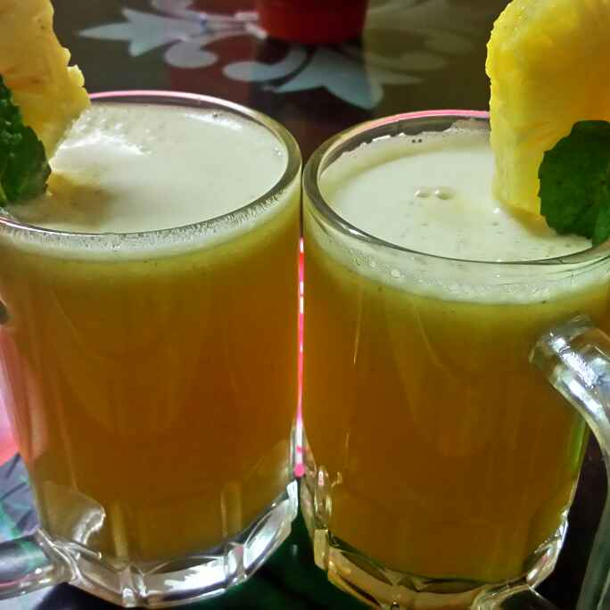 How to make Pineapple mocktail
