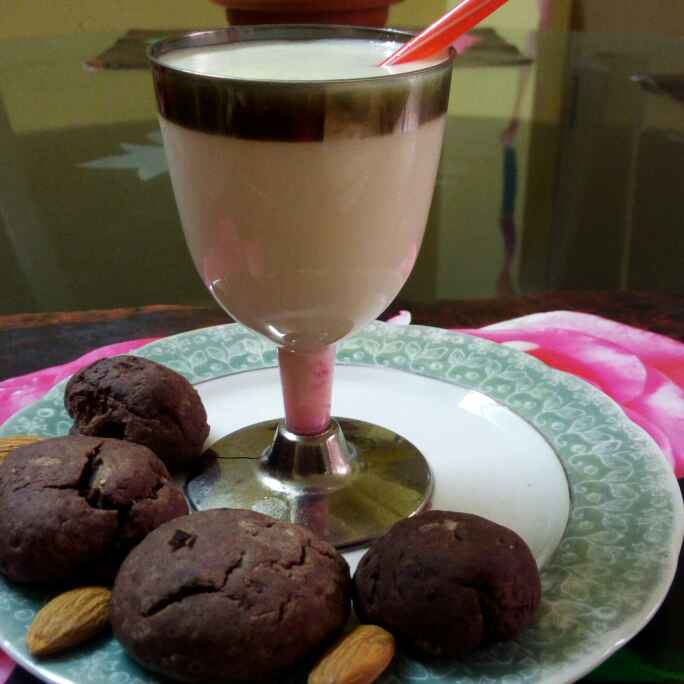 How to make Honey almond milk