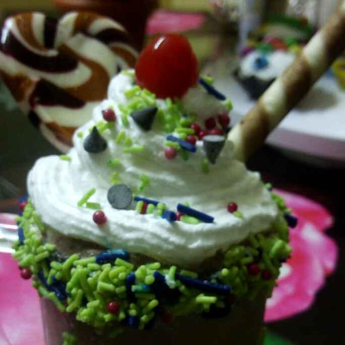 Photo of Icecream shake with chocolate by Chandu Pugalia at BetterButter