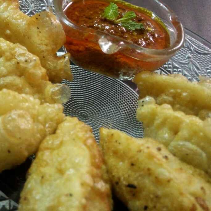 How to make Fried momos