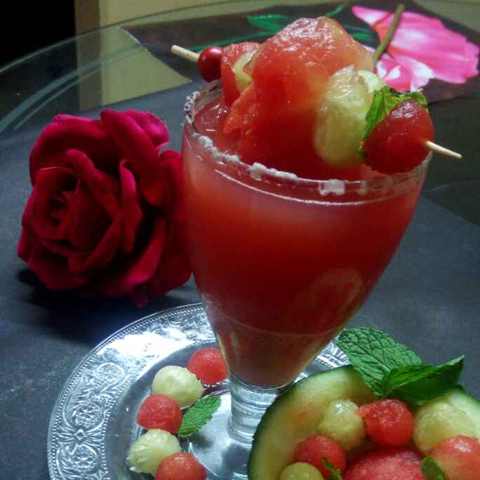 Photo of Berry melony drink by Chandu Pugalia at BetterButter