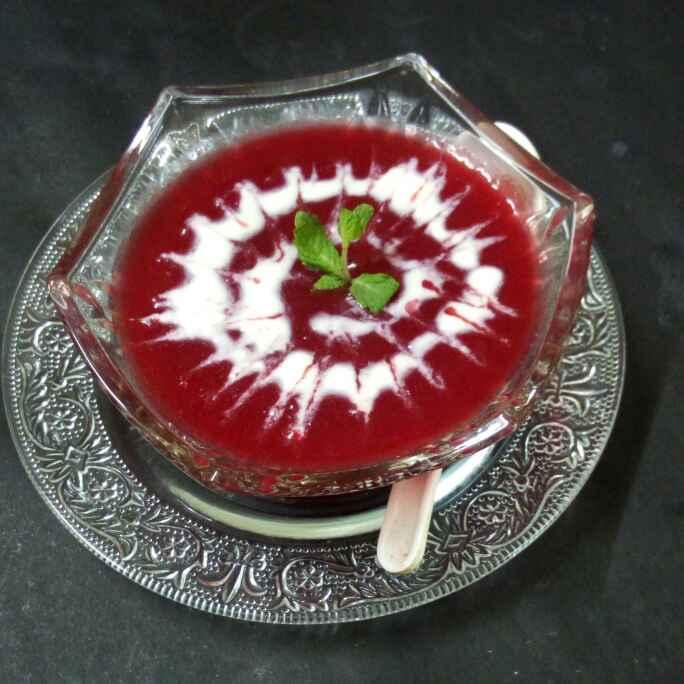 Photo of Beet tamato soup by Chandu Pugalia at BetterButter
