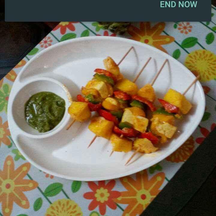 Photo of Paneer pineapple tikka by Chandu Pugalia at BetterButter