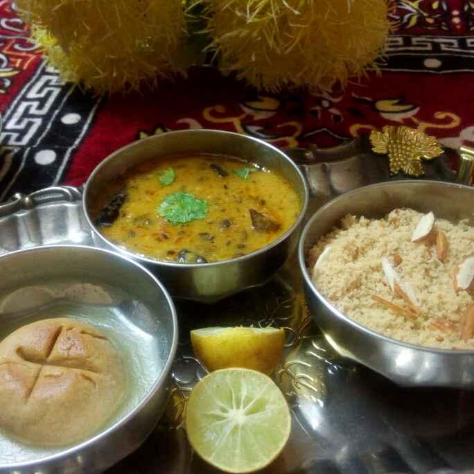 Photo of Dal bati churma by Chandu Pugalia at BetterButter