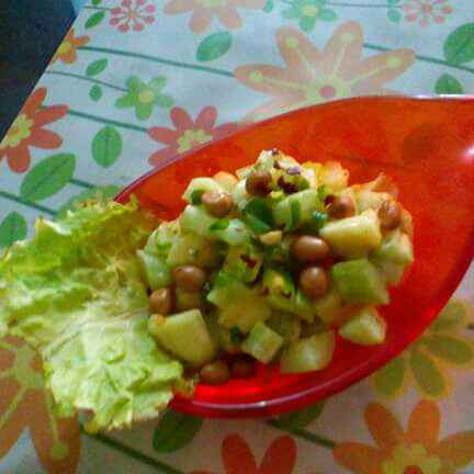 Photo of Kheera green apple salad by Chandu Pugalia at BetterButter