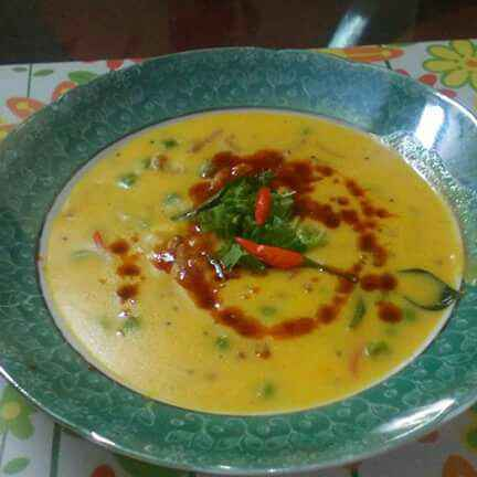 Photo of Matar ki kadhi by Chandu Pugalia at BetterButter