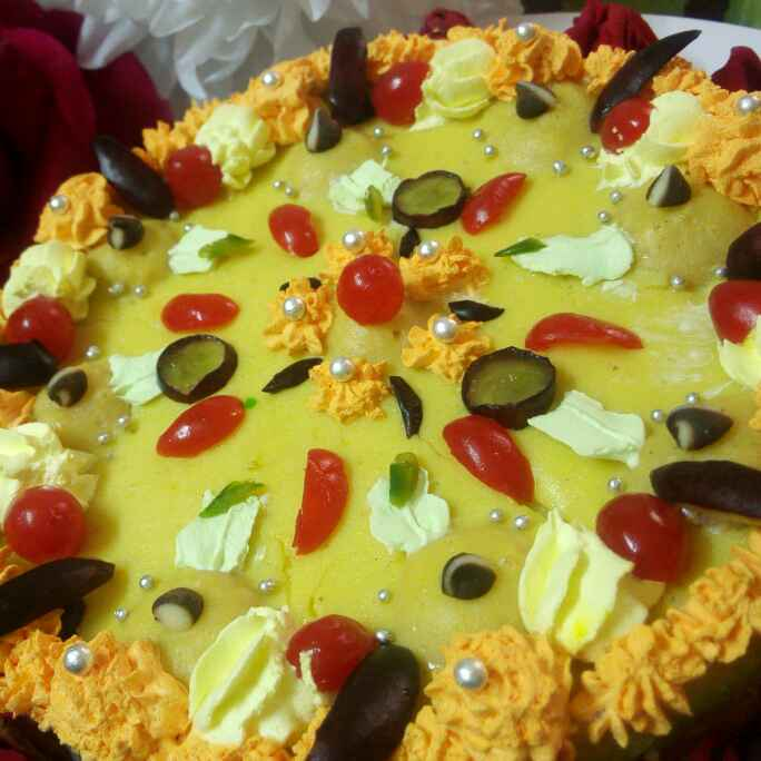 How to make Baked kesar pista rabri cheesecake