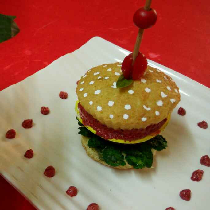 Photo of Cheeseburger cupcake by Chandu Pugalia at BetterButter