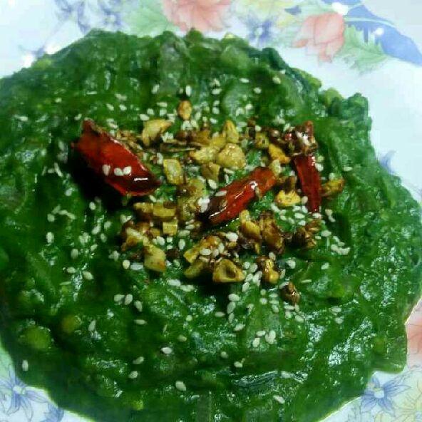 How to make Takatak palak curry