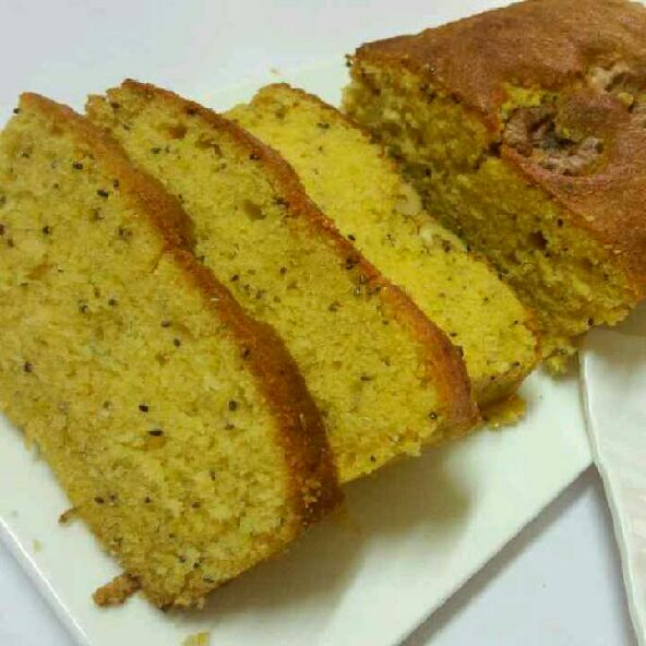 How to make Orange and chia seeds tea cake