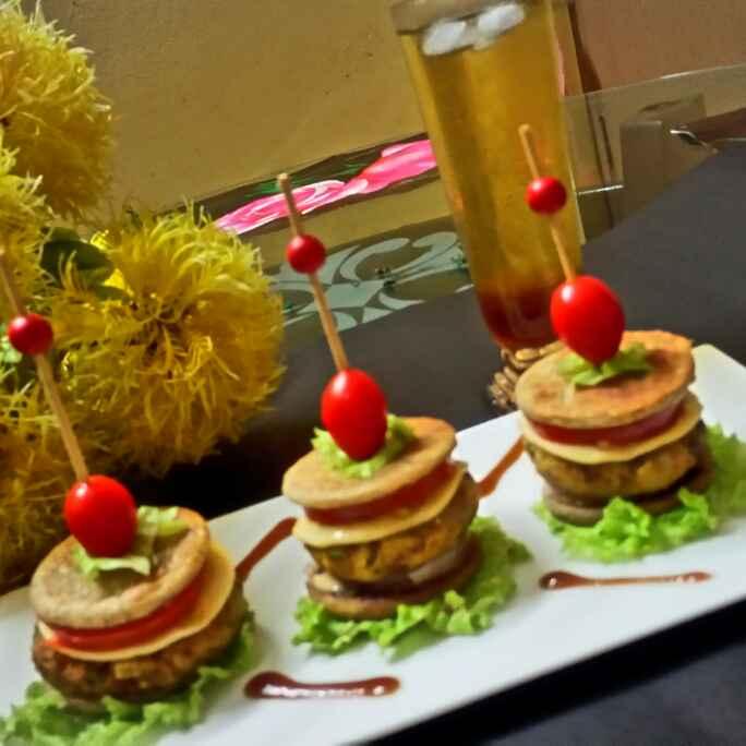 How to make Indian parantha burger