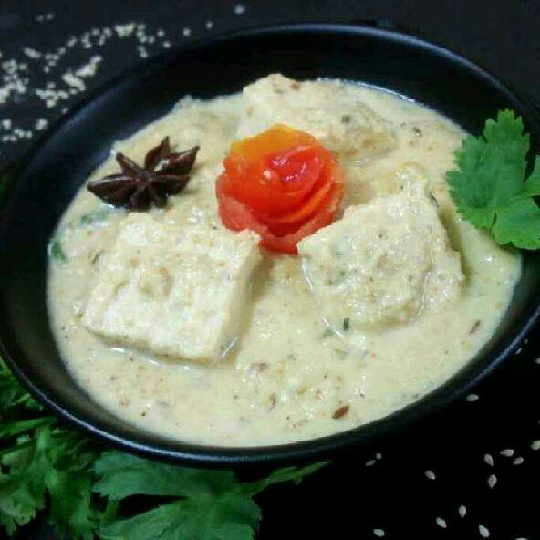 How to make Nawabi tofu curry