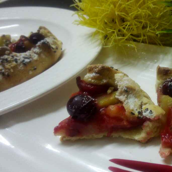 How to make Fruit galette