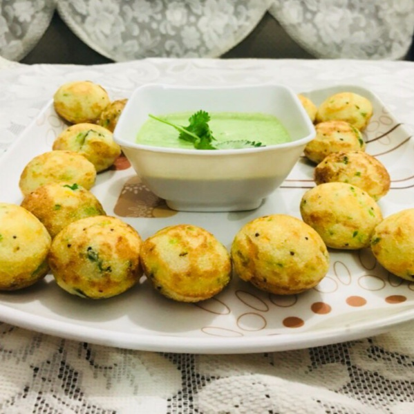 How to make Nutritious Rawa appe with curd dip