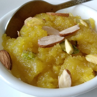 Photo of Moong Daal Halwa by Charu Aggarwal at BetterButter
