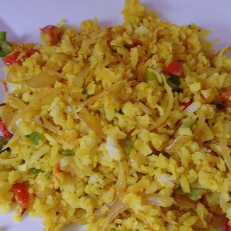 Photo of Mix Veg Poha by Charu Aggarwal at BetterButter