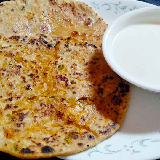 Photo of Pumpkin ka Paratha by Charu Aggarwal at BetterButter