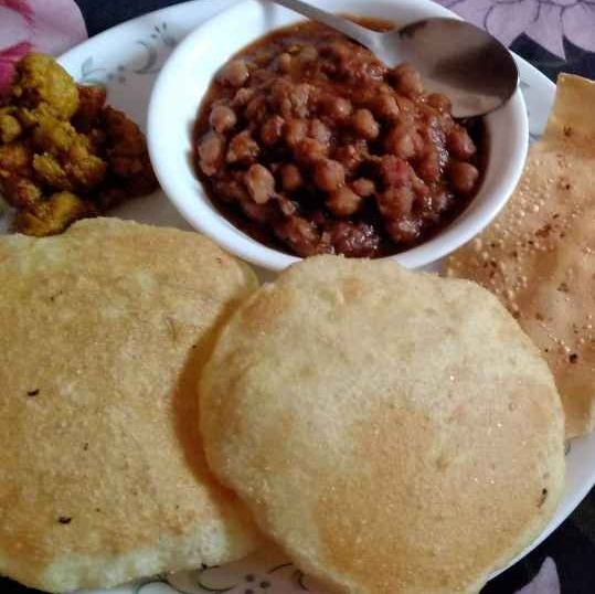 Photo of Chhole bhature by Charu Aggarwal at BetterButter